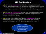 jbi architecture