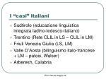 i casi italiani
