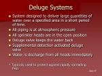 deluge systems