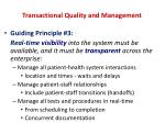 transactional quality and management6