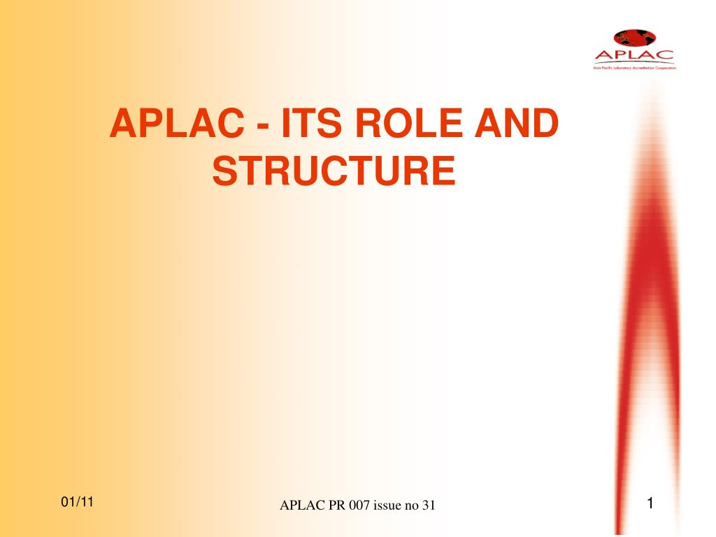 aplac its role and structure l.