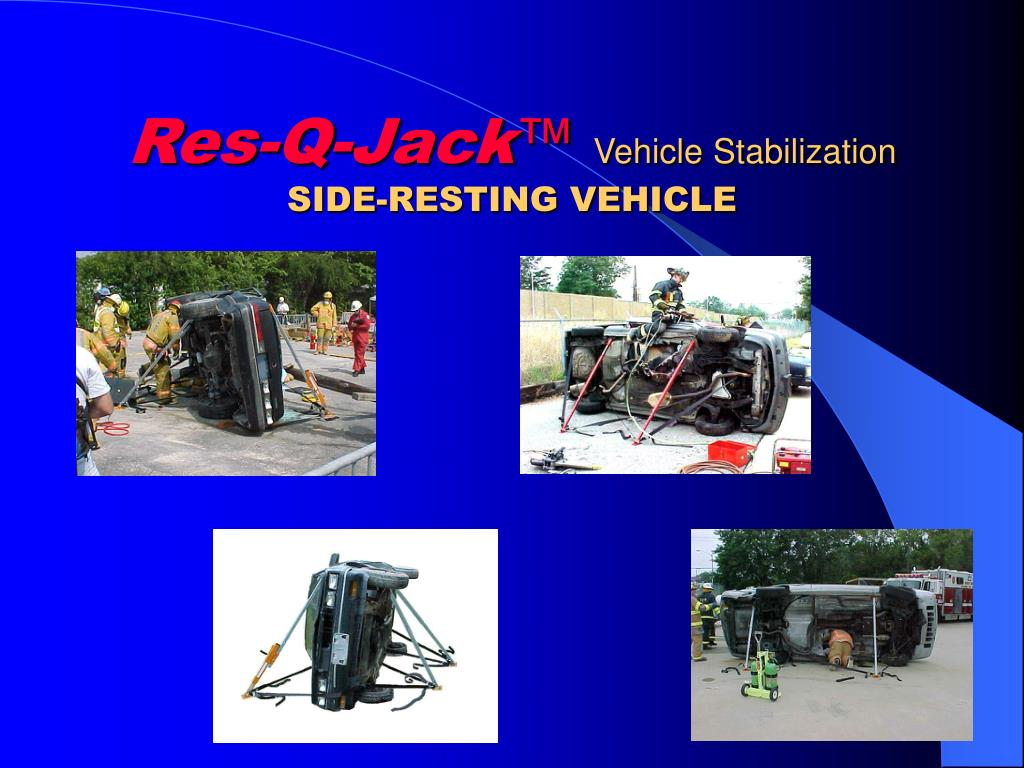 res q jack vehicle stabilization side resting vehicle l.