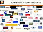 applimation customers worldwide