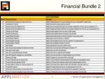 financial bundle 2