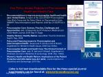 key policy related reports on preconception health and health care