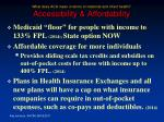 what does aca mean in terms of maternal and infant health accessibility affordability34