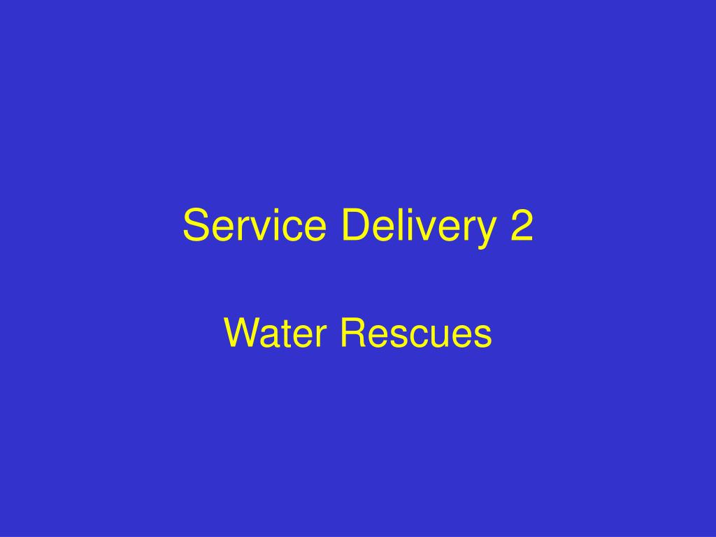 service delivery 2 l.