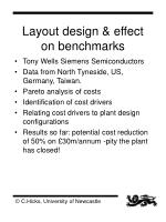 layout design effect on benchmarks
