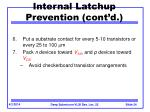internal latchup prevention cont d