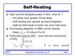 self heating