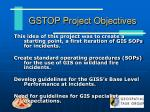 gstop project objectives