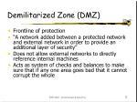 demilitarized zone dmz