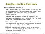 quantifiers and first order logic9