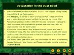devastation in the dust bowl