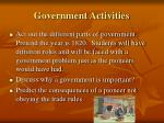 government activities20