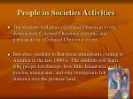 people in societies activities8