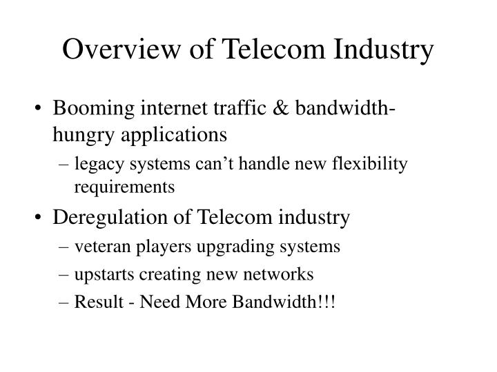 an overview of the history of the communications industry Its purpose is to engage industry, government, and academia to work   throughout the history of mobile communications, data speeds have.