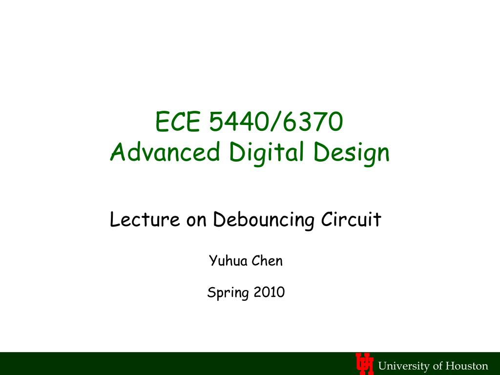 ece 5440 6370 advanced digital design l.