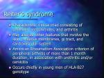 reiter s syndrome