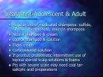 treatment adolescent adult
