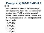 passage vi q 107 112 mcat 15