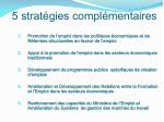 5 strat gies compl mentaires