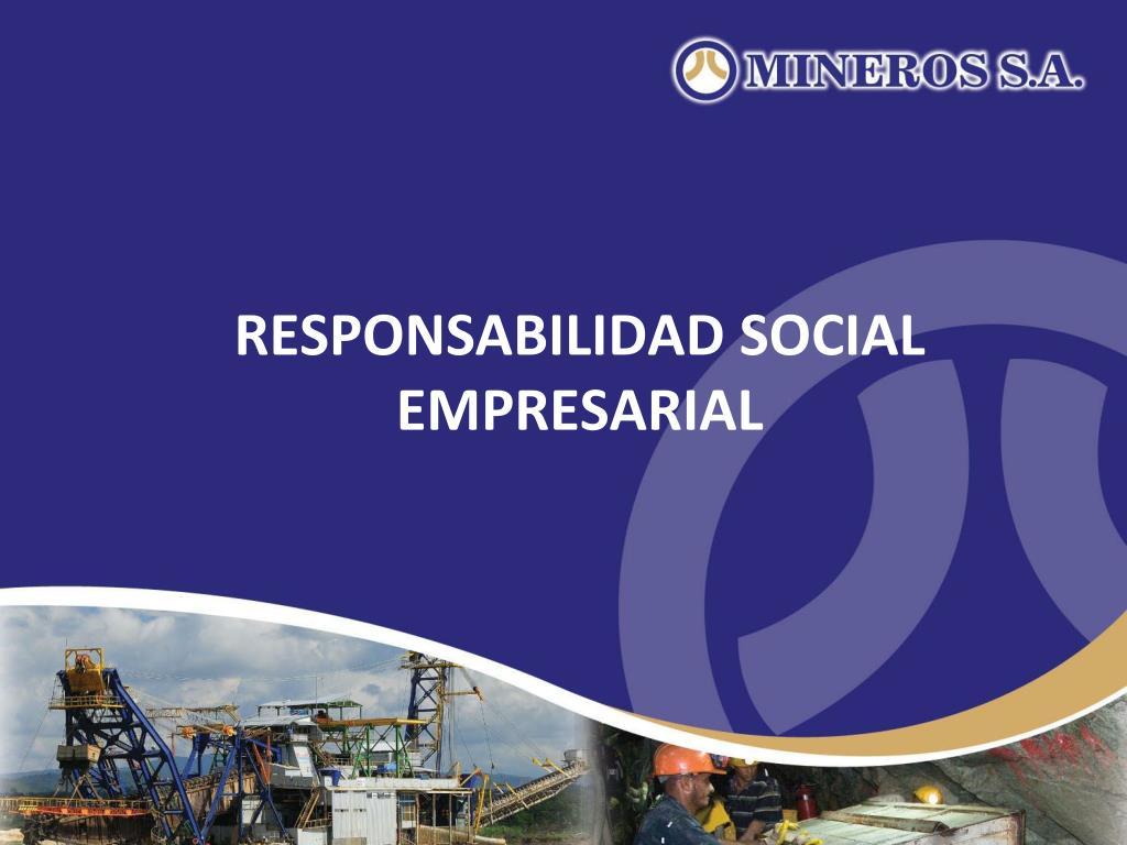 responsabilidad social empresarial l.