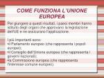 come funziona l unione europea