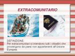 extracomunitario