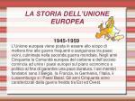 la storia dell unione europea