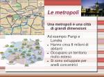 le metropoli