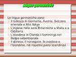 lingue germaniche