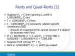 rents and quasi rents 2