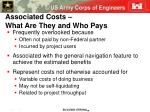 associated costs what are they and who pays
