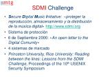 sdmi challenge