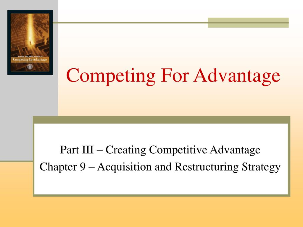 competing for advantage l.