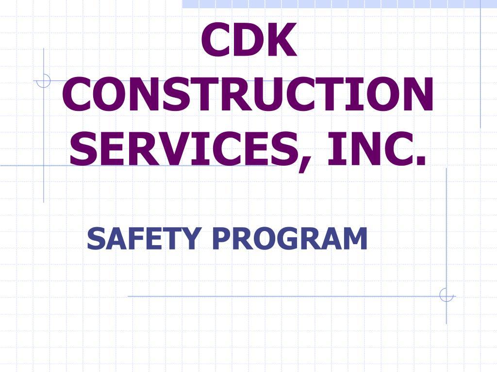 cdk construction services inc l.