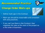 change order mark ups36
