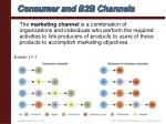 consumer and b2b channels