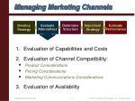 managing marketing channels14