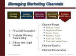 managing marketing channels17