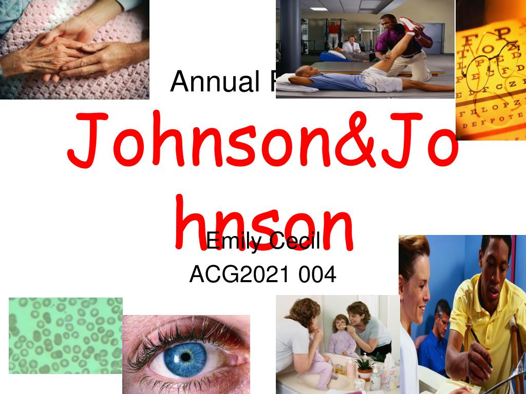 annual report johnson johnson l.