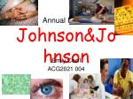 annual report johnson johnson