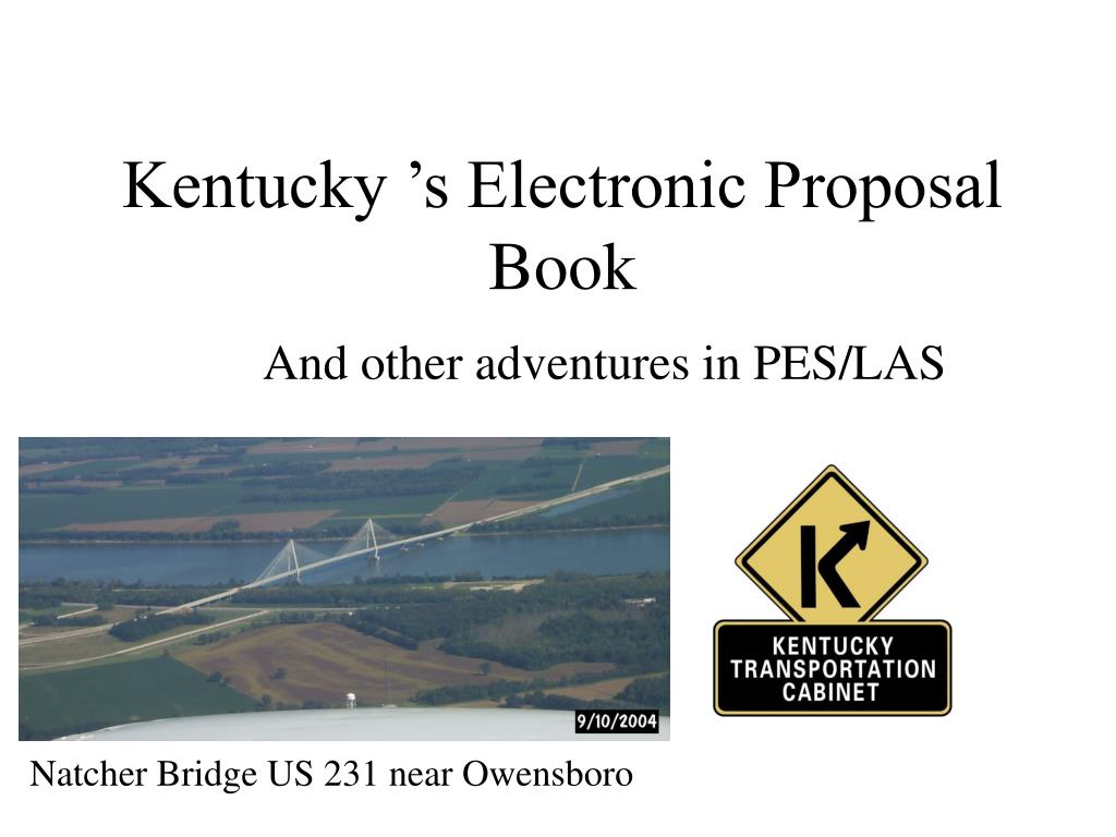 kentucky s electronic proposal book l.