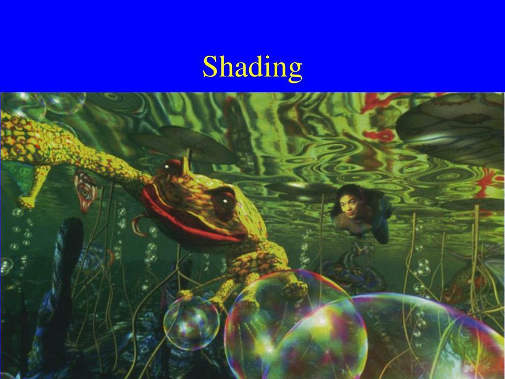 shading l.