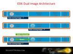 esxi dual image architecture