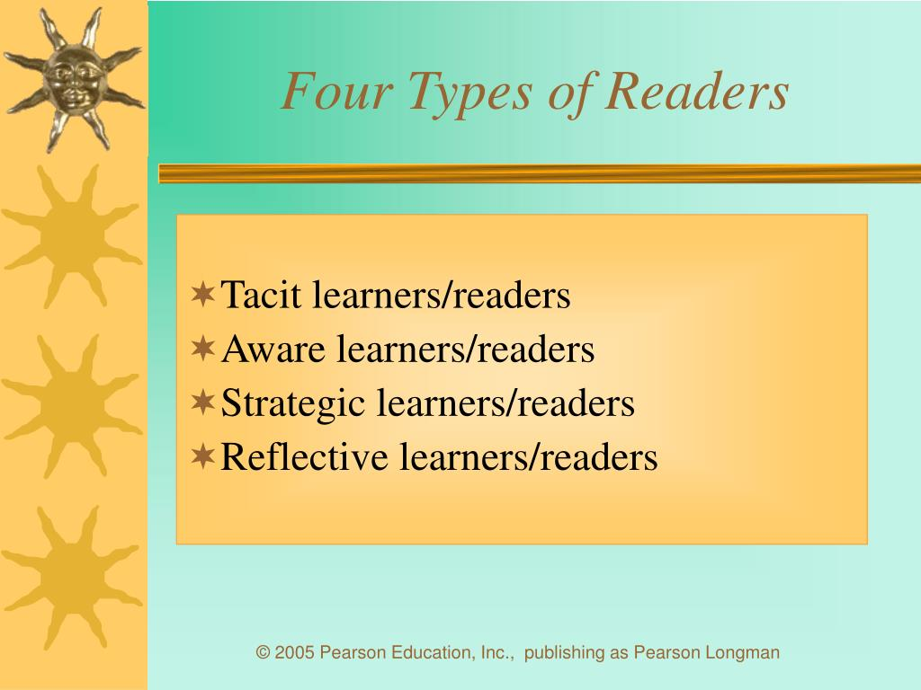 Four Types of Readers