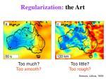 regularization the art
