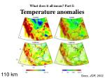 what does it all mean part i temperature anomalies