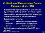 collection of exacerbation data in paggiaro et al 1998
